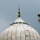 Picture - Dome at Jama Masjid mosque.