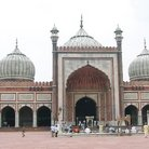 Picture - Jama Masjid mosque.