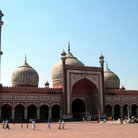 Picture - The mosque Jama Masjid in Delhi.