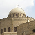 Picture - Hanging Coptic Church in Old Cairo.