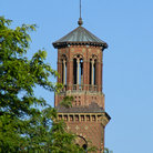 Picture - Bell Tower in Harvard Square Cambridge, Massachusetts.