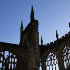 Picture - Remains of the old Cathedral in Coventry.