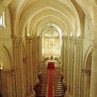 Picture - Interior of the Old Cathedral in Salamanca.