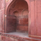 Picture - Pink arch in Jaipur, known as the Pink City.