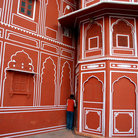 Picture - Detail of architecture in Jaipur.