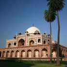 Picture - Humayun Tomb in Delhi.