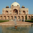 Picture - Humayun's Tomb in Old Delhi.