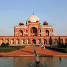 Picture - Front view of Humayun's Tomb in Old Delhi.