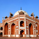 Picture - Unique view of Humayun's Tomb, Old Delhi.