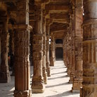 Picture - The Qutub Minar Complex in Delhi.