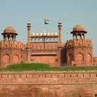 Picture - View of the Red Fort in Delhi.