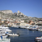 Picture - The Vieux Port in Marseilles.