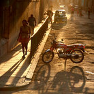 Picture - A street scene in Old Havana.