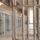 Picture - Prison cells of the Old Idaho Penitentiary State Historic Site in Boise.