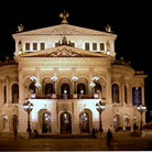 Picture - The Old Opera House in Frankfurt.