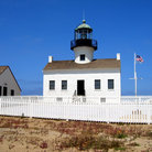 Picture - Point Loma Lighthouse, Cabrillo National Park, San Diego.