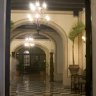 Picture - The restored lobby El Convento Hotel, the old Carmelite Convent in San Juan.
