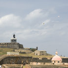 Picture - Lighthouse of at El Morro Fort, San Juan.