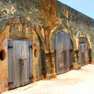 Picture - Jail cells of El Morro Fort in San Juan.
