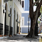 Picture - A street in Old San Juan.