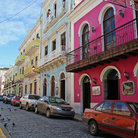 Picture - Colorful buildings in Old San Juan.