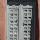 Picture - Double door entrance in Old Town, Albuquerque.
