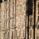 Picture - Architectural detail in Edinburgh's Old Town.