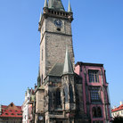 Picture - Old Town Hall in Prague.