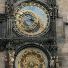 Picture - Astronomical clock in Old Town Square, Prague.