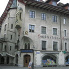 Picture - Gothic style building in old town Lucerne.
