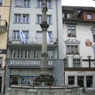 Picture - A fountain in the old town of Lucerne.