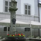 Picture - Fountain in the old town of Lucerne.