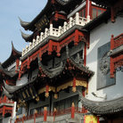 Picture - Historic building in Shanghai Old Town.