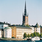 Picture - View of Old Town, Stockholm, seen from the water.