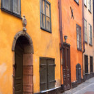 Picture - Architectural detail from the Old Town of Stockholm.