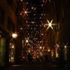 Picture - Christmastime in the Old town of Zurich.