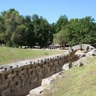 Picture - View over ancient Olympia.