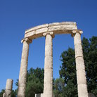 Picture - Pillar at ancient Olympia.