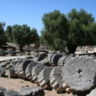 Picture - Fallen remains at ancient Olympia.