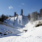 Picture - Lake Placid Ski Jumps.