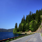 Picture - Highway 101 on the Olympic Peninsula.