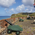 Picture - An old fort at Oranjestad, St. Eustatius.