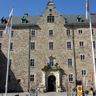 Picture - Entrance to the Castle Orebro.