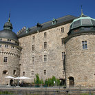 Picture - Close up of the Castle in Orebro.