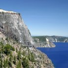 Picture - Cliffs of Crater Lake.