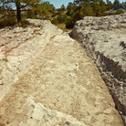 Picture - A view of Oregon Trail Ruts Historic Site near Guernsey.