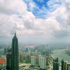 Picture - View from the Oriental Pearl TV Tower in Shanghai.