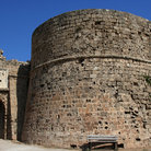 Picture - The Othello Tower in located along the harbor front in Famagusta.