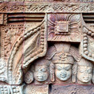 Picture - Temple carving in Bhubaneshwar City.
