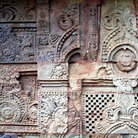 Picture - Detailed carving of the Parsurameswar Temple in Bhubaneshwar City.